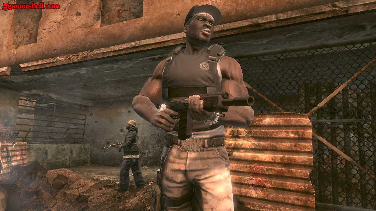 PS3 50 Cent Blood On The Sand