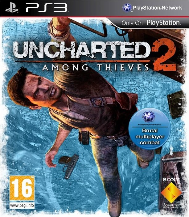 PS3 Uncharted 2 Among Thieves