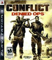 PS3 Conflict Denied Ops (DE) (bez obalu)