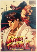 Plagát Street Fighter II (c) (nový)