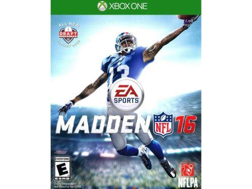 Xbox One Madden NFL 16 2016