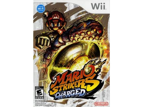 Nintendo Wii Mario Strikers Charged Football