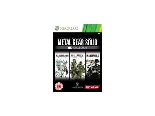 Xbox 360 Metal Gear Solid HD Collection