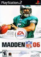 PS2 Madden NFL 06 2006