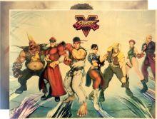 Plagát Street Fighter V - rôzne motívy (nový)