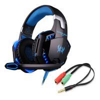 [Xbox One 360 | PS4 || PS3 | PC] Kotion Each G200 Gaming Headset modrý (nový)
