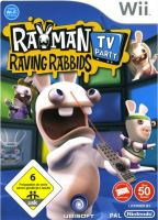 Nintendo Wii Rayman Raving Rabbids TV Party