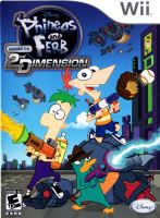 Nintendo Wii Phineas And Ferb: Across The 2nd Dimension