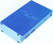 PlayStation 2 Fat Aqua Blue LIMITOVANÁ EDÍCIA (estetická vada)