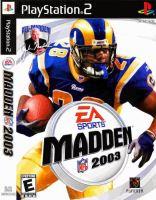 PS2 Madden NFL 03 2003