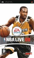 PSP NBA Live 08 2008
