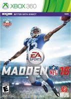Xbox 360 Madden NFL 16 2016