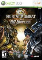 Xbox 360 Mortal Kombat Vs Dc Universe (nová)