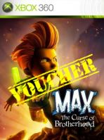 Voucher Xbox 360 Max: The Curse of the Brotherhood