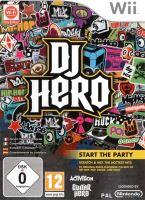 Nintendo Wii DJ Hero (iba hra)