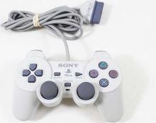 [PS1] Drôtový Ovládač Sony Dualshock - biely