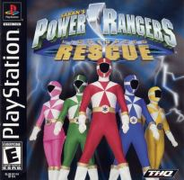 PSX PS1 Power Rangers Lightspeed Rescue