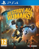 PS4 Destroy all Humans! (Nová)