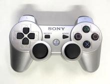 [PS3] Bezdrôtový Ovládač Sony Dualshock - strieborný (estetická vada)