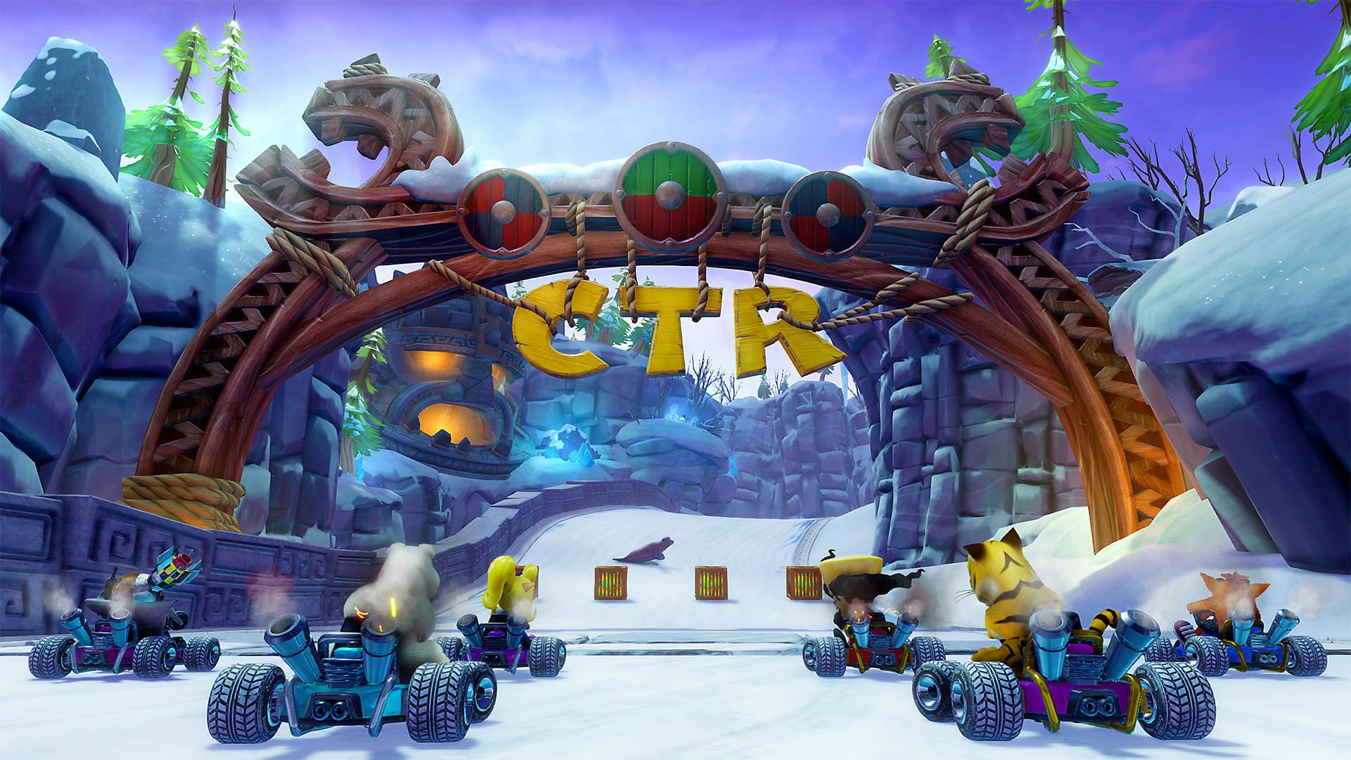 Xbox One Crash Team Racing: Nitro Fueled (nová)