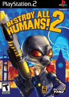 PS2 Destroy All Humans 2