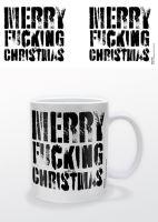 Hrnček Merry F * cking Christmas (nový)