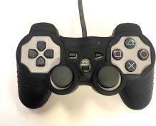 [PS1] Drôtový Ovládač Sony Dualshock - sivý (estetická vada) + puzdro