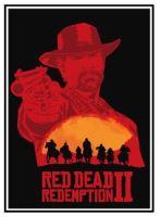 Plagát Red Dead Redemption 2 - Arthur (b) (nový)
