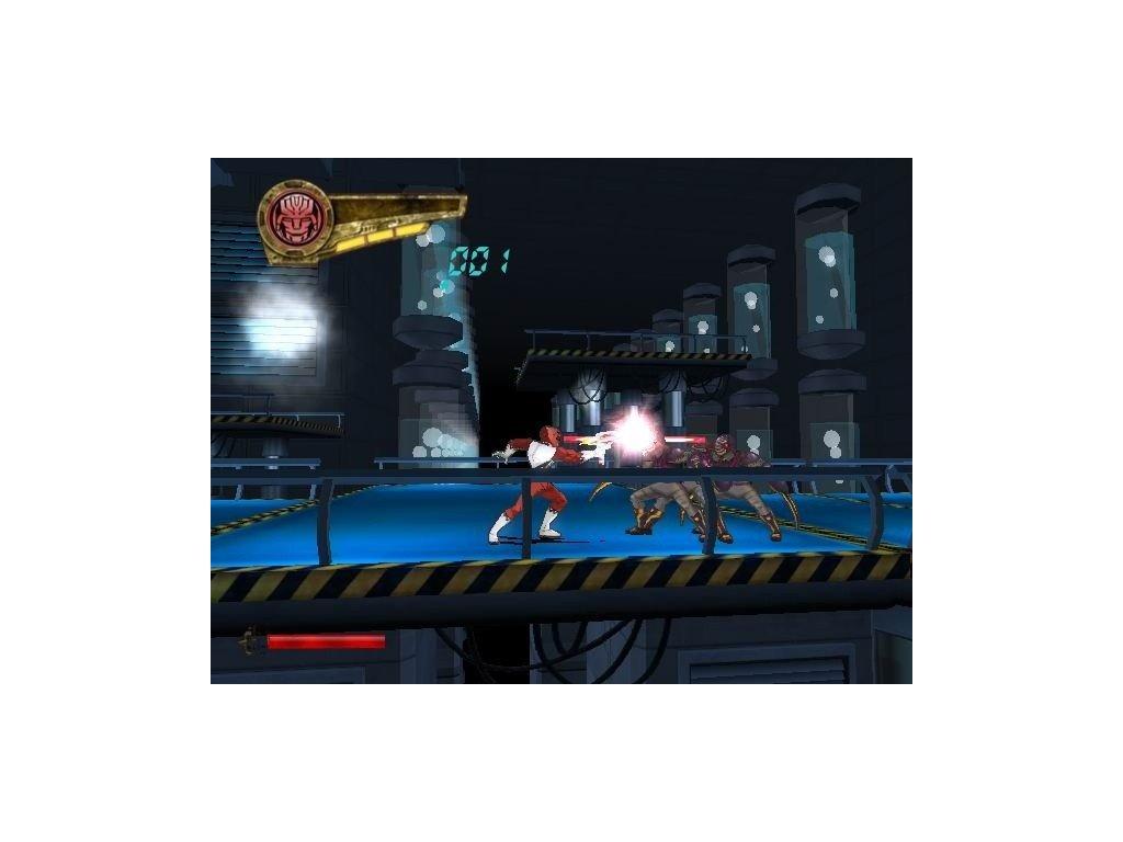 PS2 Power Rangers Super Legends