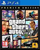 PS4 GTA 5 Grand Theft Auto V Premium Edition (nová)