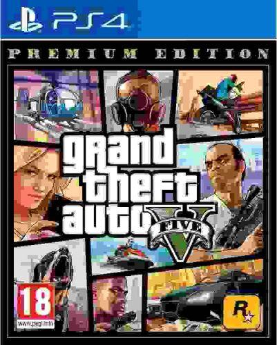 PS4 GTA 5 Grand Theft Auto V Premium Edition (nová)