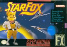 Nintendo SNES Star Fox - NTSC verzia