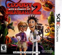 Nintendo 3DS Oblačno, miestami fašírky 2, Cloudy With A Chance Of Meatballs 2 (nová)