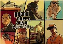 Plagát Grand Theft Auto San Andreas (b) (nový)