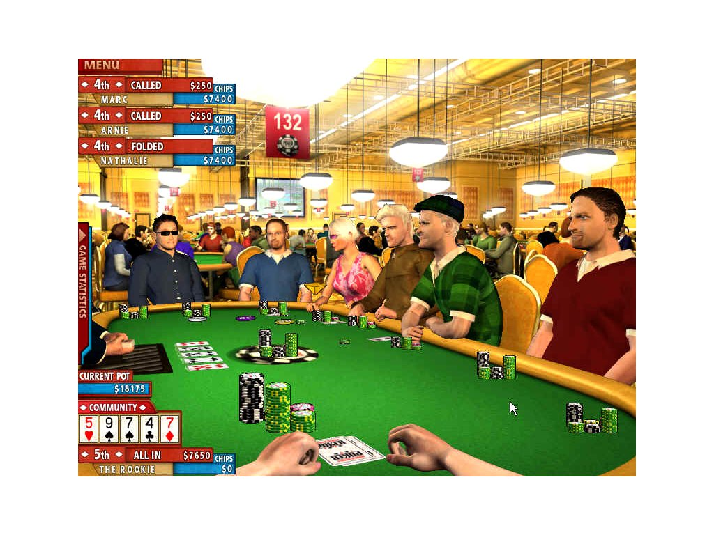 PS2 World Series Of Poker