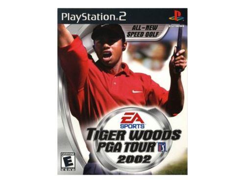 PS2 Tiger Woods PGA Tour 2002