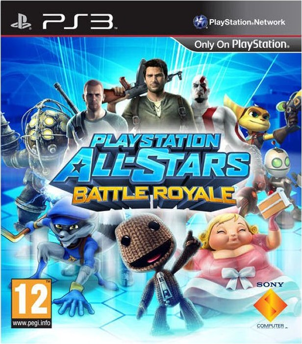PS3 Playstation - All Stars Battle Royale