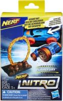 NERF - Nitro Single Stunt and Car Flamefurry - Hracie Skokánek a Autíčka (nové)