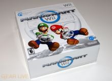 Nintendo Wii Mario Kart Set