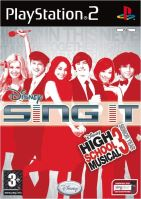PS2 Disney Sing It: High School Musicial 3