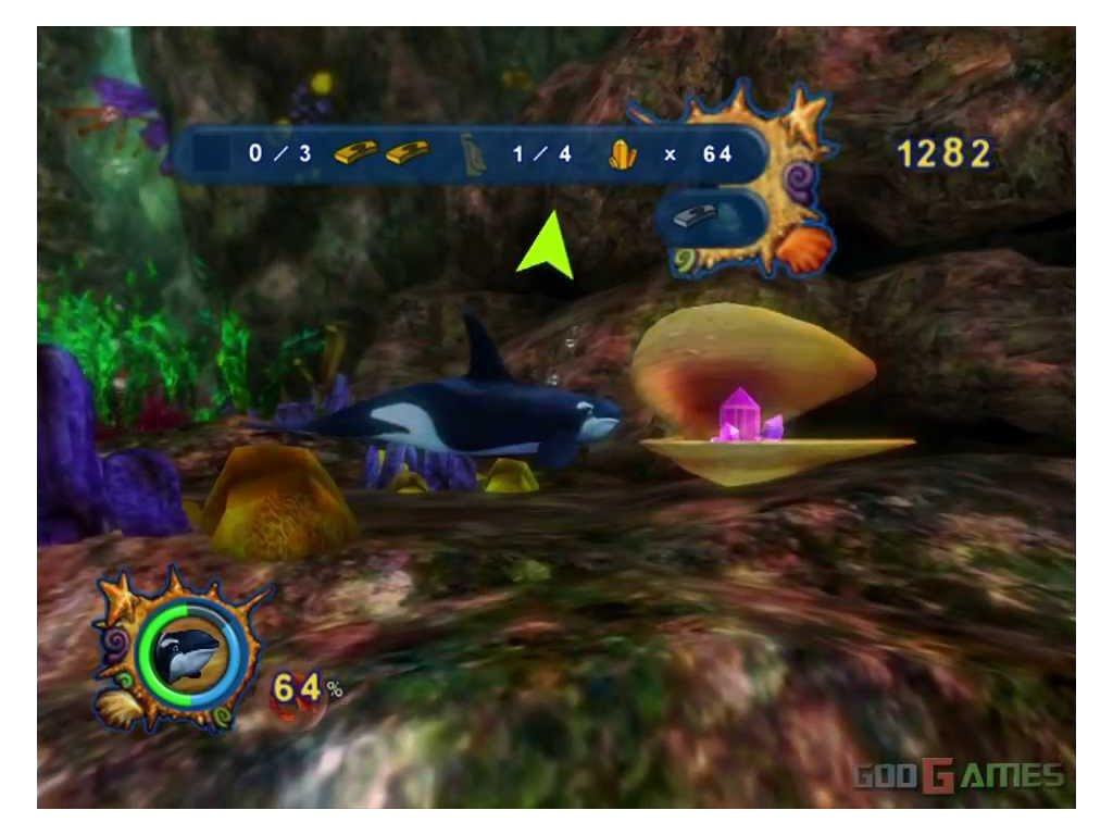 PS2 Shamu's Deep Sea Adventures