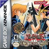 Nintendo GameBoy Advance Yu-Gi-Oh! The Sacred Cards