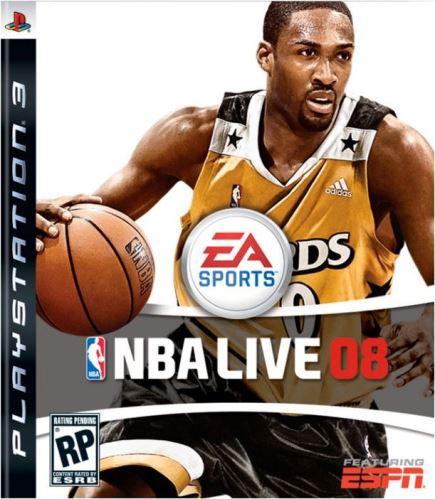 PS3 NBA Live 08 2008