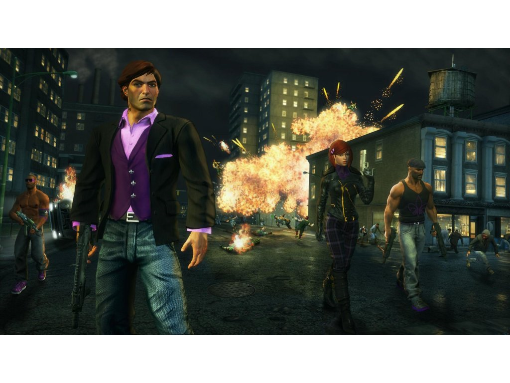 Xbox 360 Saints Row The Third Full Package