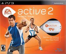 PS3 Active 2 Personal Trainer + kompletné príslušenstvo