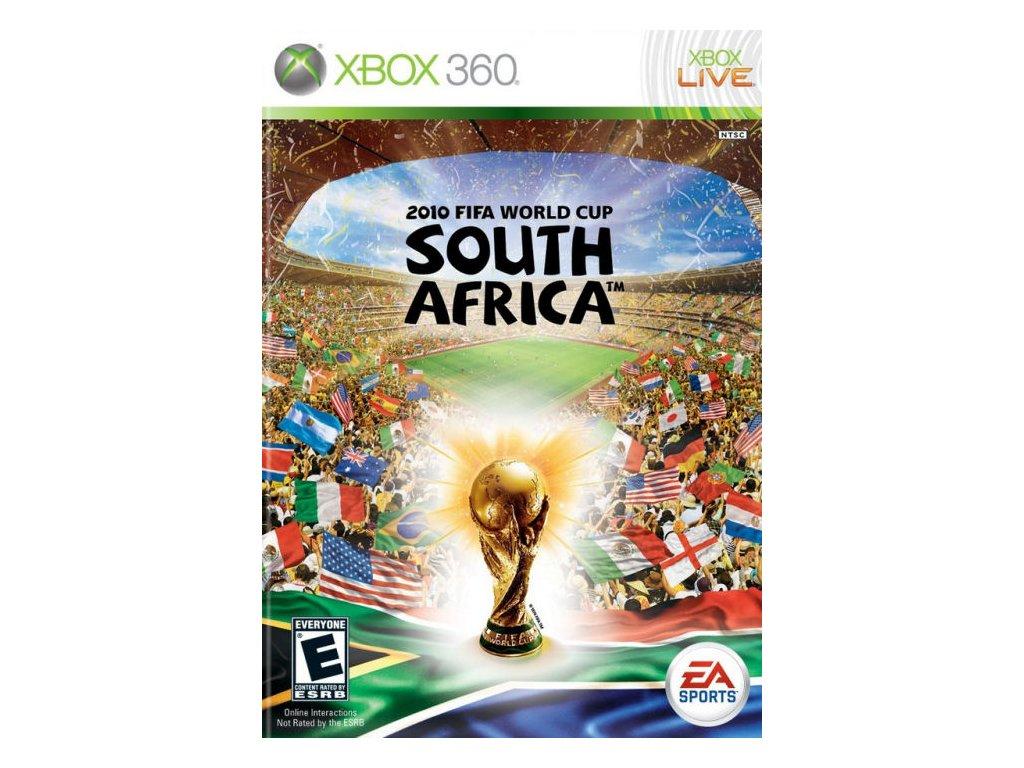 Xbox 360 FIFA World Cup 2010 South Africa (bez obalu) (DE)