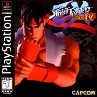 PSX PS1 Street Fighter Ex Plus Alpha