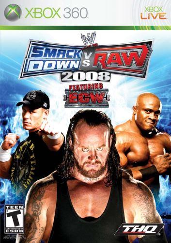 Xbox 360 Smackdown Vs. Raw 2008