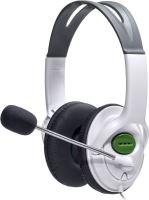 [Xbox 360] Slúchadlá s mikrofónom Sensacional fone 3-60 - biela (Nová)