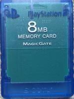 [PS2] Originálne pamäťová karta Sony 8MB (priehľadná modrá)